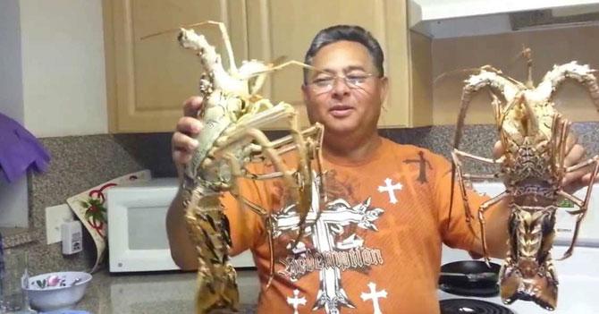 Chef de Diosdado nos enseña a hacer langosta al thermidor usando langostas de Maine en vez de las francesas
