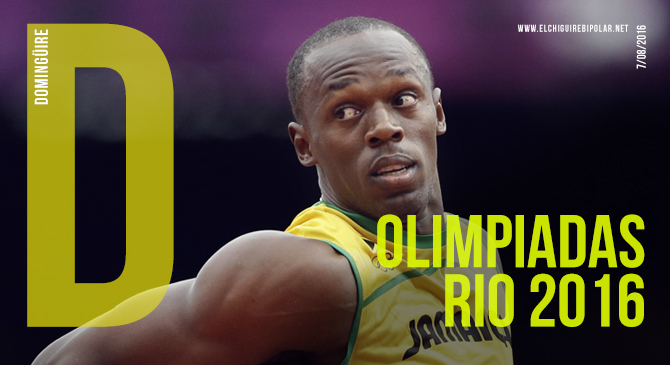 Domingüire No.137: Olimpiadas de Río 2016