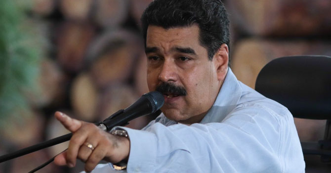 Maduro amenaza a Maduro si se le ocurriera intentar un autogolpe