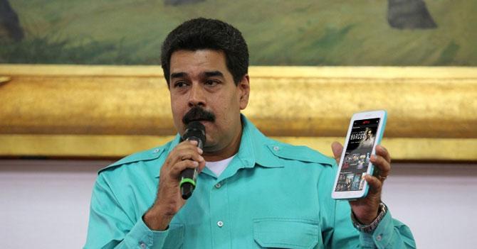 Maduro paga mes de Netflix y acaba con reservas venezolanas