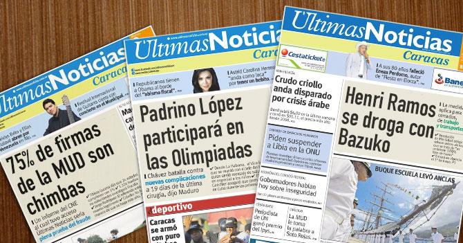 """Maduro: """"A Últimas Noticias se le está yendo la mano de chavista"""""""