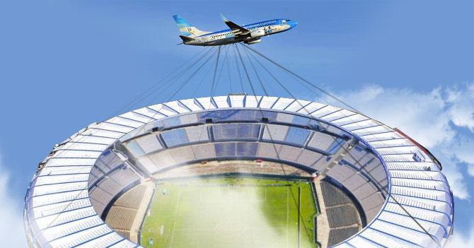 Argentina trae estadio para jugar contra Venezuela