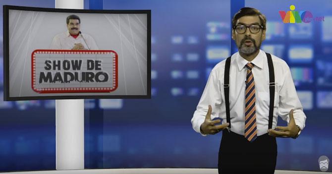 Reporte Semanal - Editorial: El Maduro Show