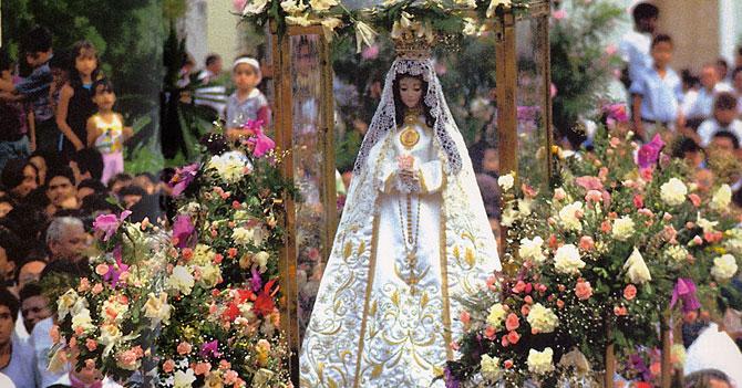 Para celebrar su día, Virgen del Valle organiza algo pequeño porque Margarita está peligrosa