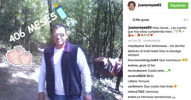 Madre orgullosa pone foto en Instagram para celebrar los 406 meses de su hijo