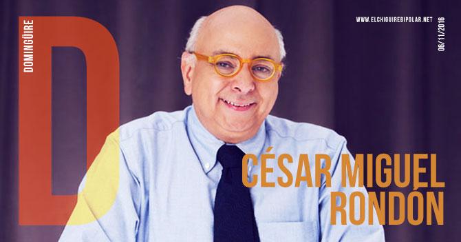 Domingüire No.149: César Miguel Rondón