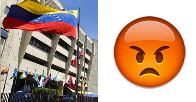 TSJ prohíbe emoji de carita brava