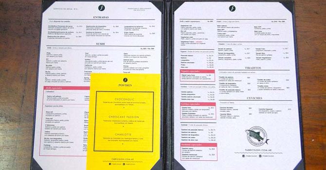 Restaurantes empiezan a mostrar precios de platos en sueldos mínimos