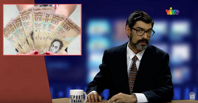 Reporte Semanal - Noticiero: billetes de 100 y el holograma de Chávez
