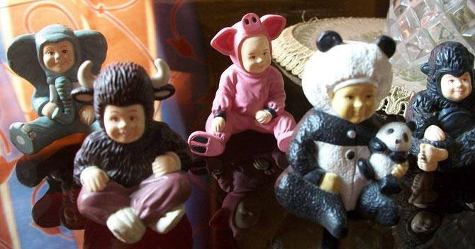Colección de bebés de Parmalat sigue siendo el adorno más nuevo de repisa de abuela