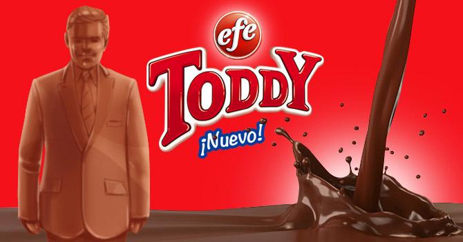 Presentan nuevo candidato presidencial hecho de Toddy