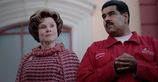 Maduro nombra a Dolores Umbridge como Vicepresidente