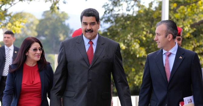 Maduro le delega Cilia a El Aissami