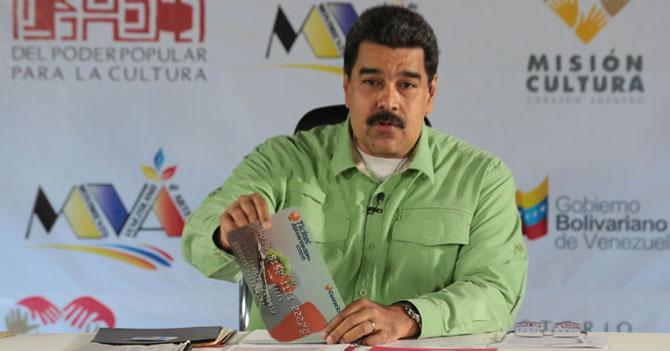 Maduro aumenta en 150% el tamaño de los cestatickets