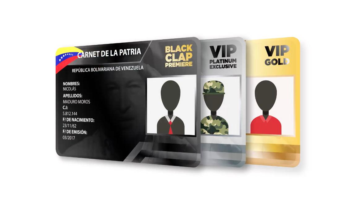 El Carnet VIP de la Patria - El Show de Bocaranda