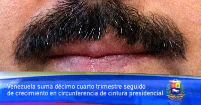Para evitar que se vea la realidad del país, cadenas serán un close up del bigote de Maduro