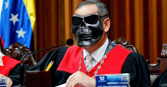 Magistrados del TSJ usarán máscaras de las OLP