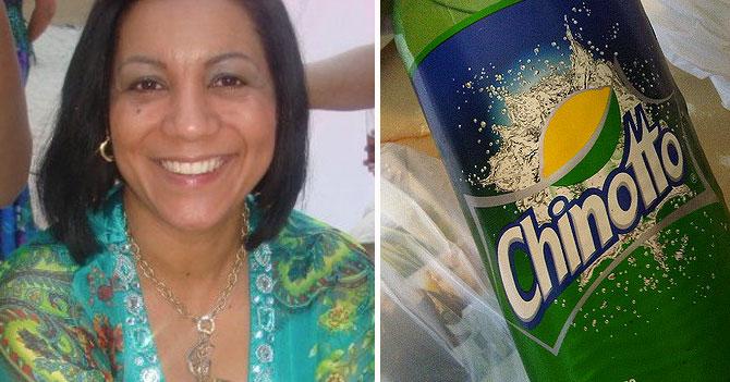 Mamá considera Chinotto como medicamento por alguna razón