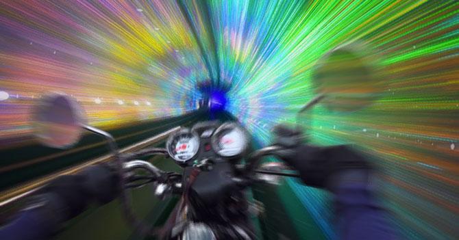 """""""Estoy apurado"""" dice joven a mototaxista y hace que rompa la velocidad de la luz"""