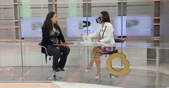 Ancla de Globovisión pide que le hagan la arepa de su bozal con harina integral porque está a dieta