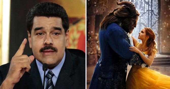 Maduro hace análisis de La Bella y la Bestia