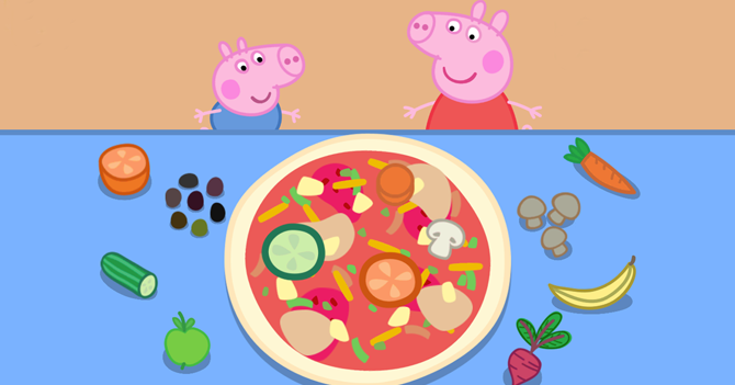 Gobierno saca Discovery Kids del aire porque en Peppa Pig hay comida