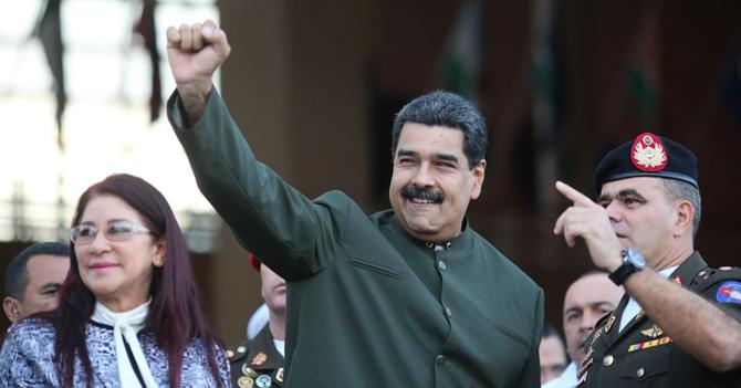 """Maduro: """"La única situación irregular que hay en Carabobo es el pitcheo de Magallanes"""""""