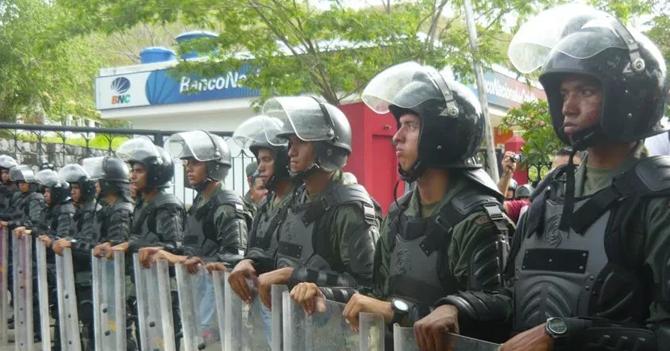 Oposición convoca marcha hasta piquete de la Guardia Nacional para poder llegar a destino