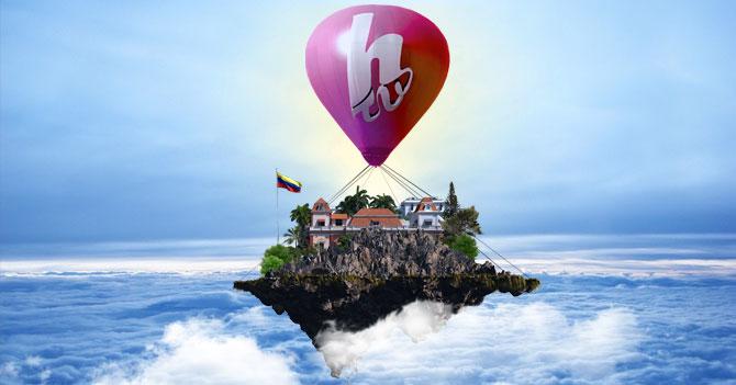 Maduro resguarda Miraflores en el cielo usando Globo de HTV