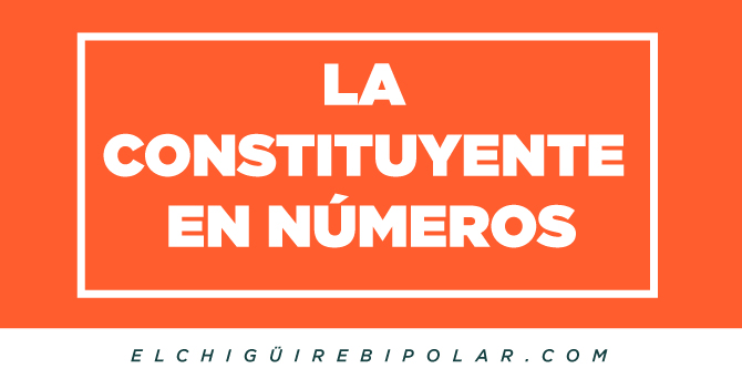 La Constituyente en números
