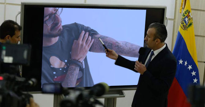Gobierno revela que tatuajes de Pizarro son un mapa a Miraflores