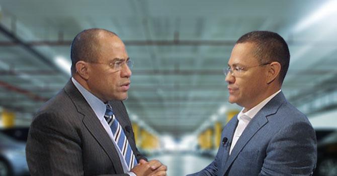 Vladimir y Ernesto Villegas llevan 72 hrs discutiendo en estacionamiento de Globovisión