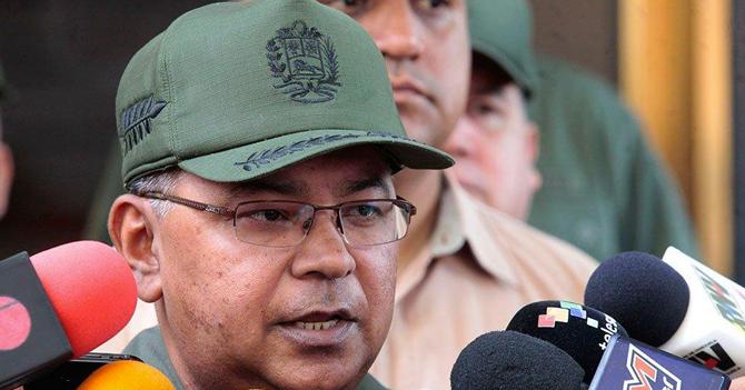 """Reverol a los venezolanos: """"Lo material se recupera"""""""