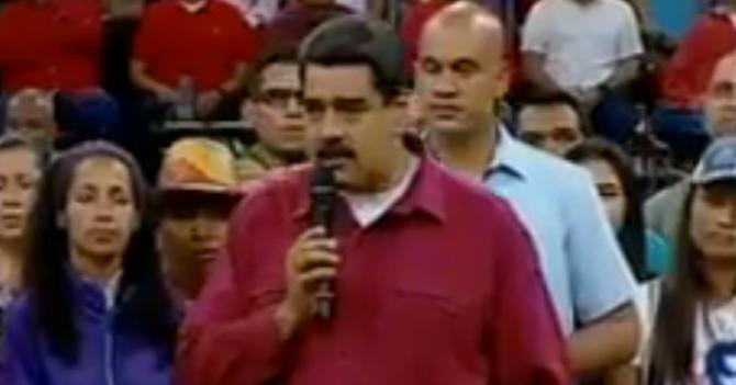 Maduro amenaza con soltar a Diosa Canales contra manifestantes