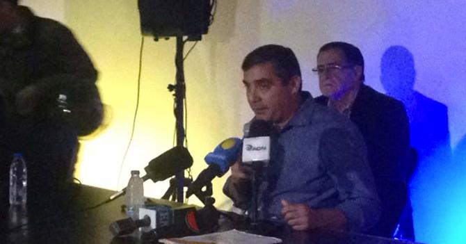 """Rodriguez Torres: """"Tengo imágenes de funcionarios reiniciando el FIFA cuando iban perdiendo"""""""