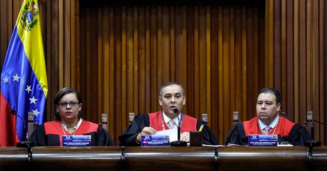 """TSJ a Fiscal General: """"Chica, se cayó el sistema"""""""