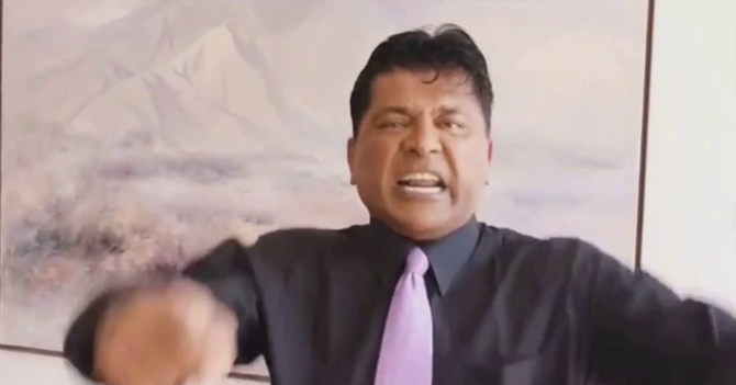 Franklin Virgüez graba video arrecho, se le borra y le da más arrechera