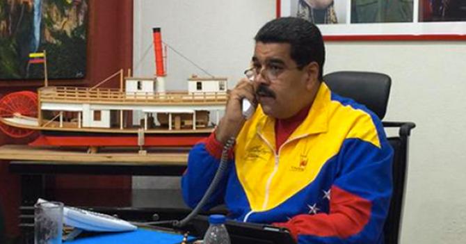 Maduro habla con contestadora del Kremlin por 30 minutos pensando que es Putin