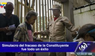 VTV: Simulacro del fracaso de la Constituyente fue todo un éxito