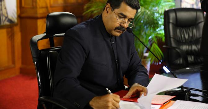 EXCLUSIVA: La carta que enviará Maduro a Trump