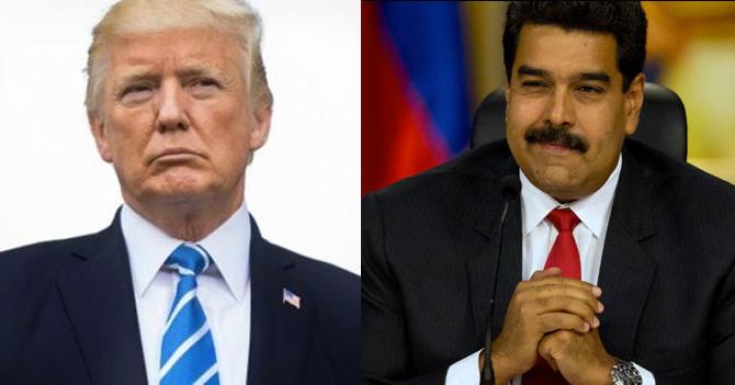 Presidente inepto sin bigote amenaza a presidente inepto con bigote