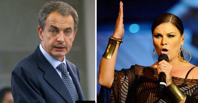 Zapatero supera récord de Olga Tañón de presentaciones en Venezuela