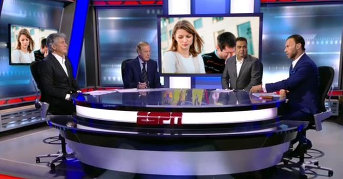 ESPN transmite pelea de pareja que siempre discute en público