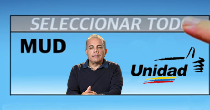 CNE obliga a la MUD a usar foto de Rosales para regionales