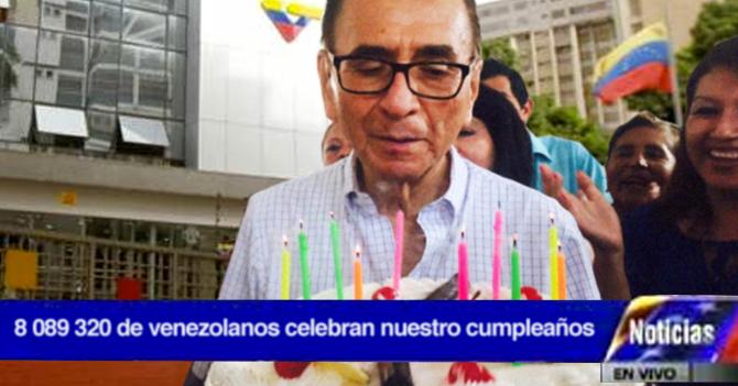 8 millones de personas se presentan en VTV para soplar sus velitas de cumpleaños