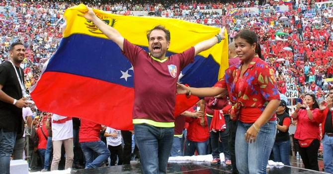 """Rafael Lacava celebra porque hoy es """"luernes"""""""