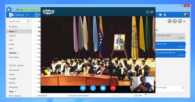 Universidad hace acto de grado por Skype para que todos los alumnos puedan asistir