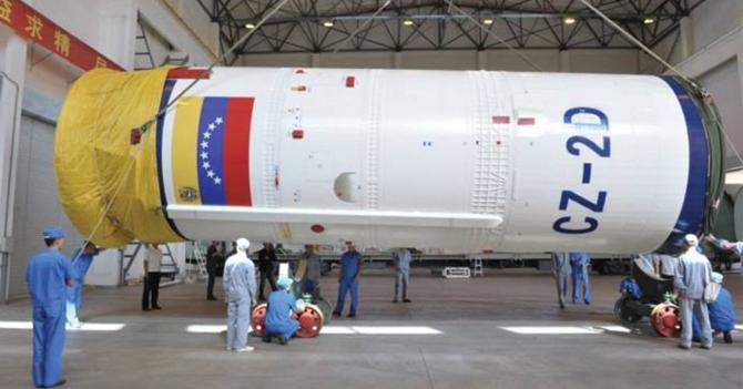 Gobierno envía con éxito su tercer chanchullo al espacio
