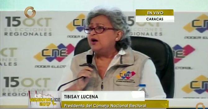"""Tibisay Lucena: """"Una vez más, ganó la miyoría"""""""