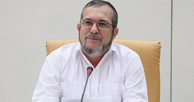 Venezolano envidioso ve candidatura de Timochenko a presidencia de Colombia y sonríe